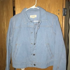 Pacsun baby blue jacket